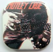 Motley Crue - 'Too Fast for Love' Square Badge
